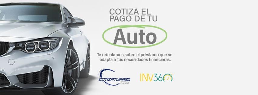 Inventario 360 crea plataforma para calcular el pago de tu próximo auto.